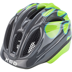 KED Meggy II Trend Casco Bambino, flame grey green